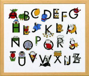 borduurpakket alfabet Dick Bruna