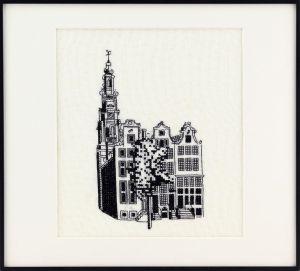 Borduurpakket Amsterdamse huizen