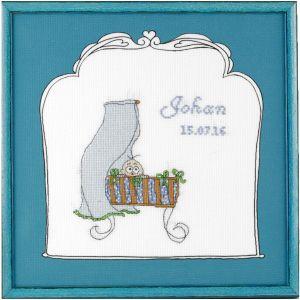 borduurpakket geboorte jongen Betje.com