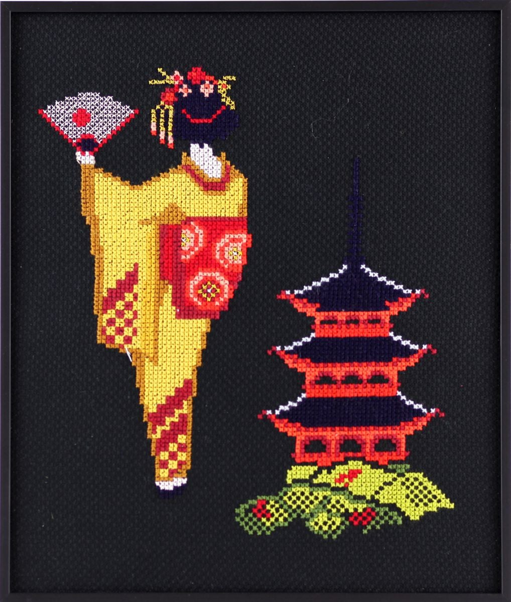 borduurpakket geisha