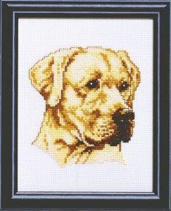 Borduurpakket hond Labrador
