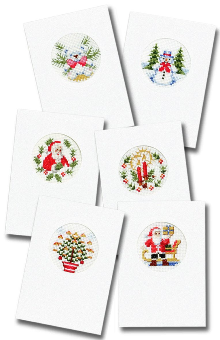 borduurpakket kerst
