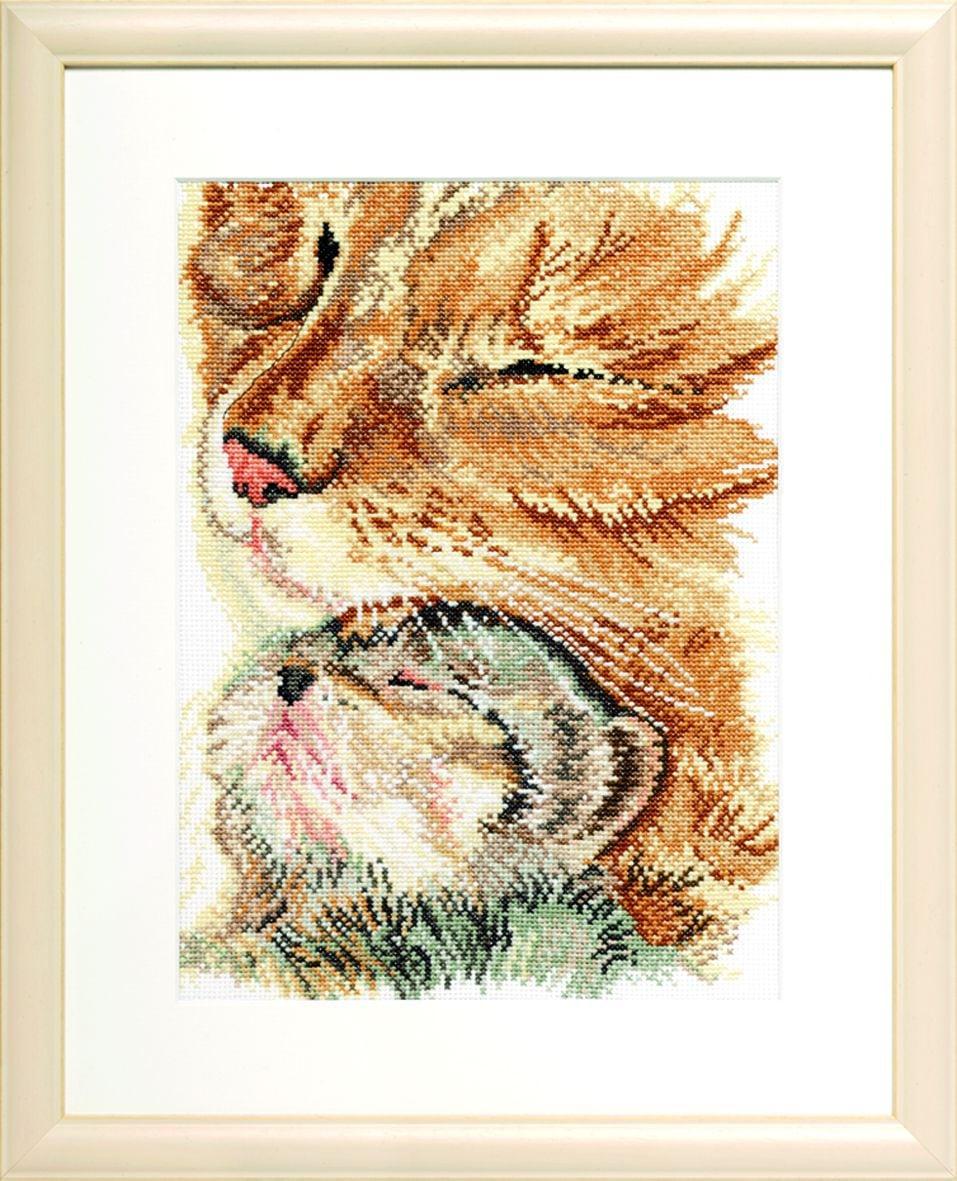 borduurpakket poes met kitten