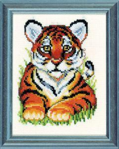 Borduurpakket tijger