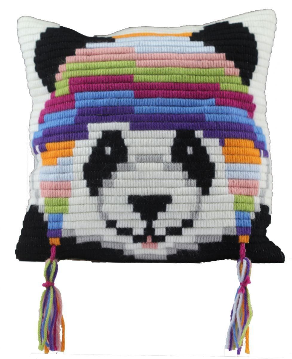 one stitch panda kussen