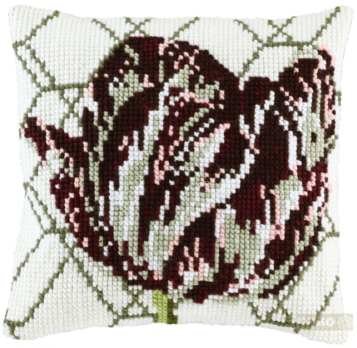 cross stitch dutch tulip printed