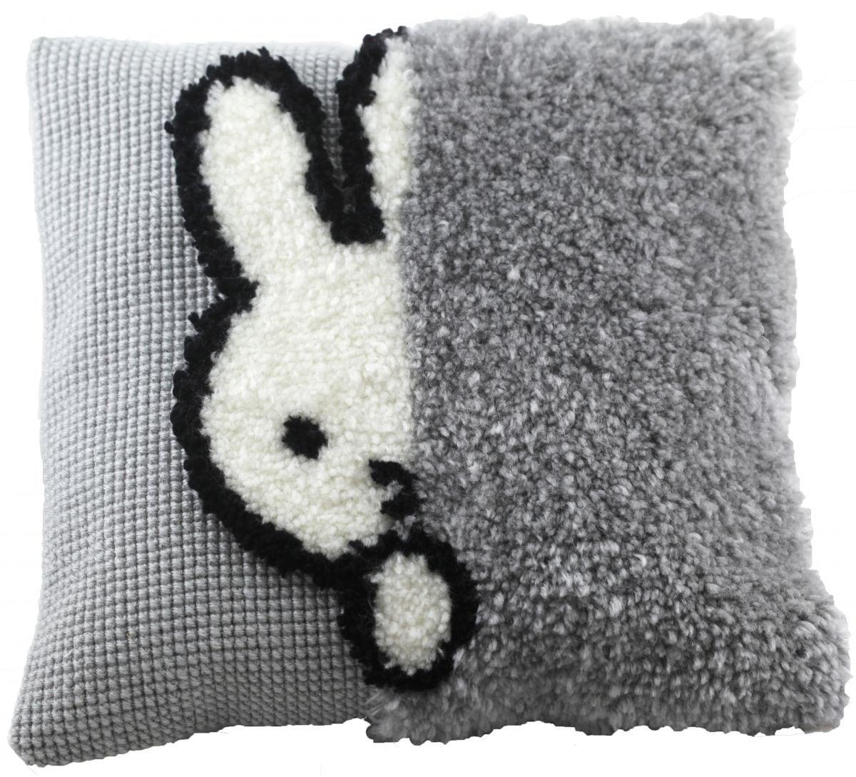cross stitch latch hook cushion miffy dick bruna printed