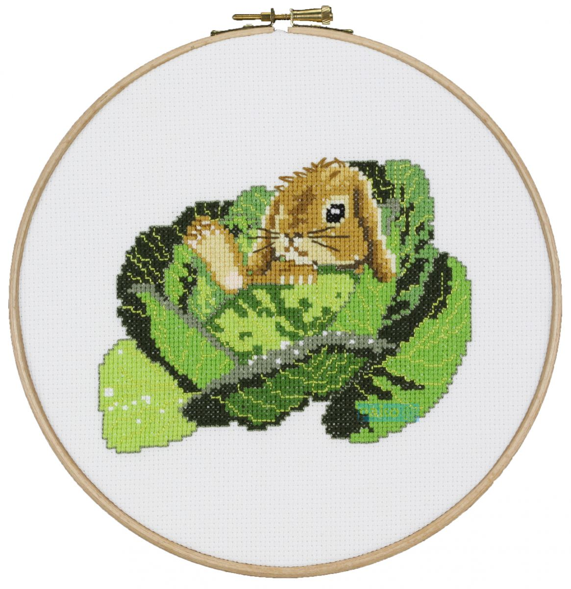 cross stitch sweet rabbit