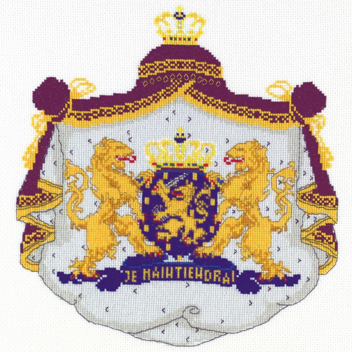dutch royal weapon embroidery kit