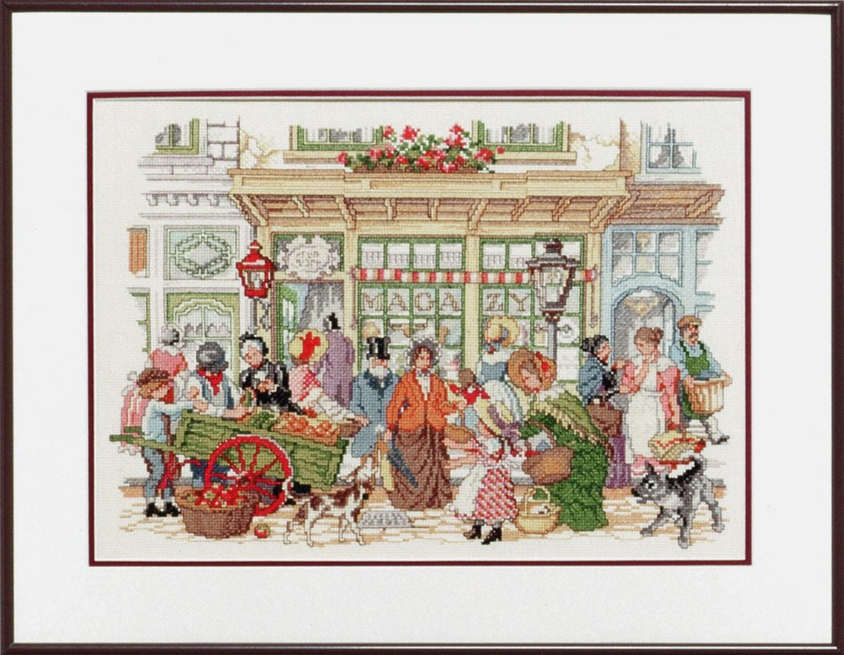 embroidery kit anton pieck street theatre