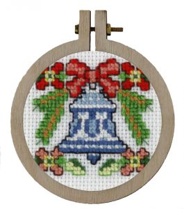 Embroidery kit Christmas ornament , nice for the Christmas tree
