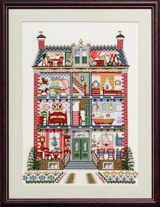 Embroidery kit classic dollhouse