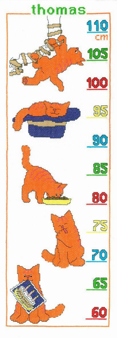 embroidery kit dikkie dik growing chart red tomcat