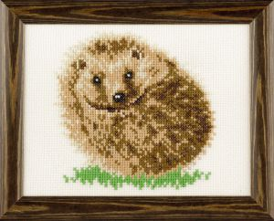Embroidery kit hedgehog