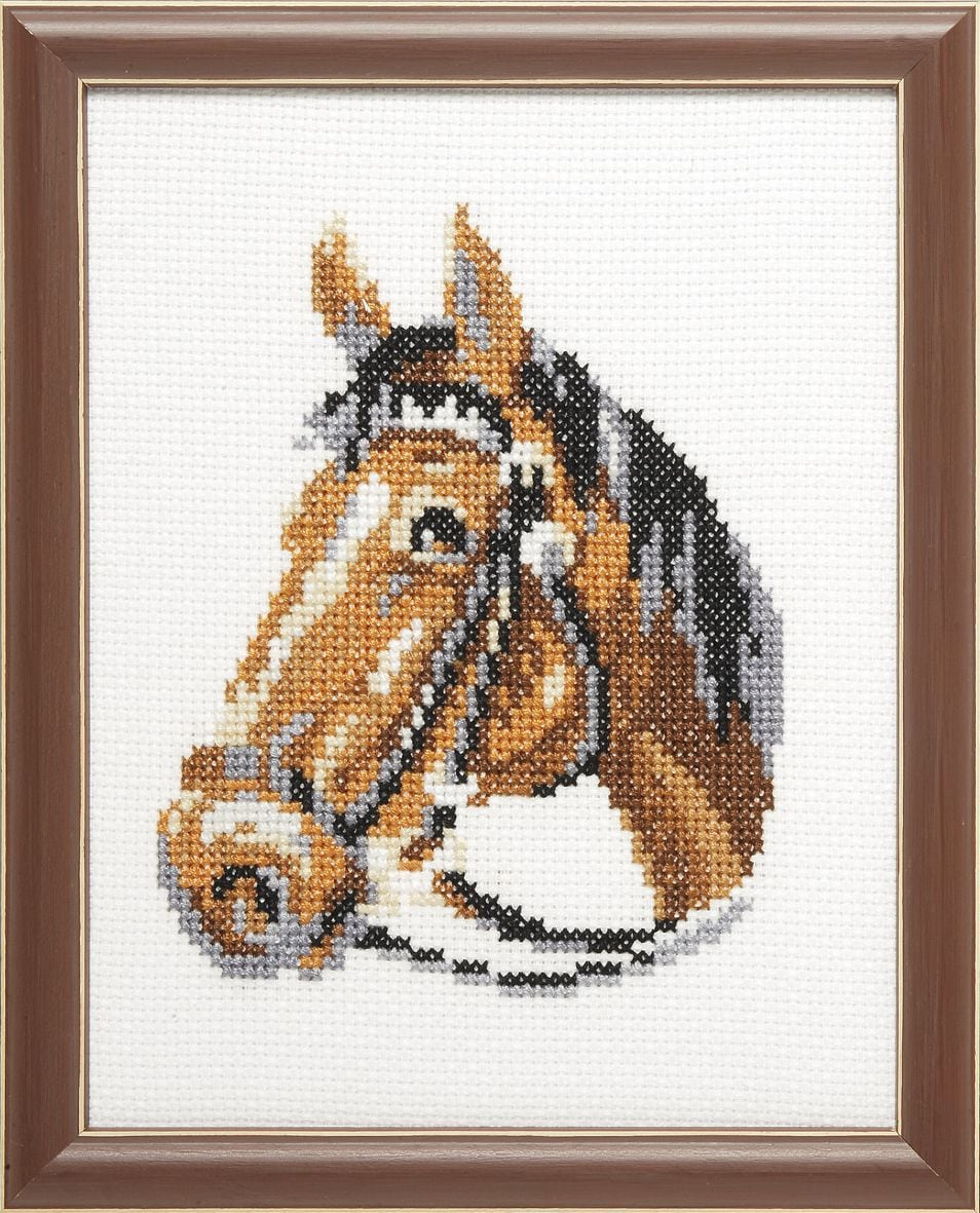 embroidery kit horse