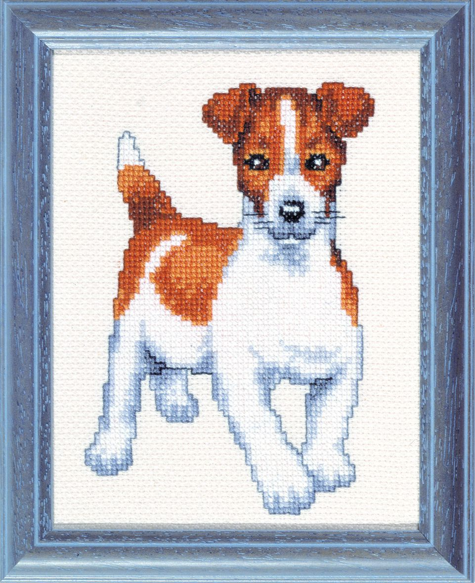 embroidery kit jack russell