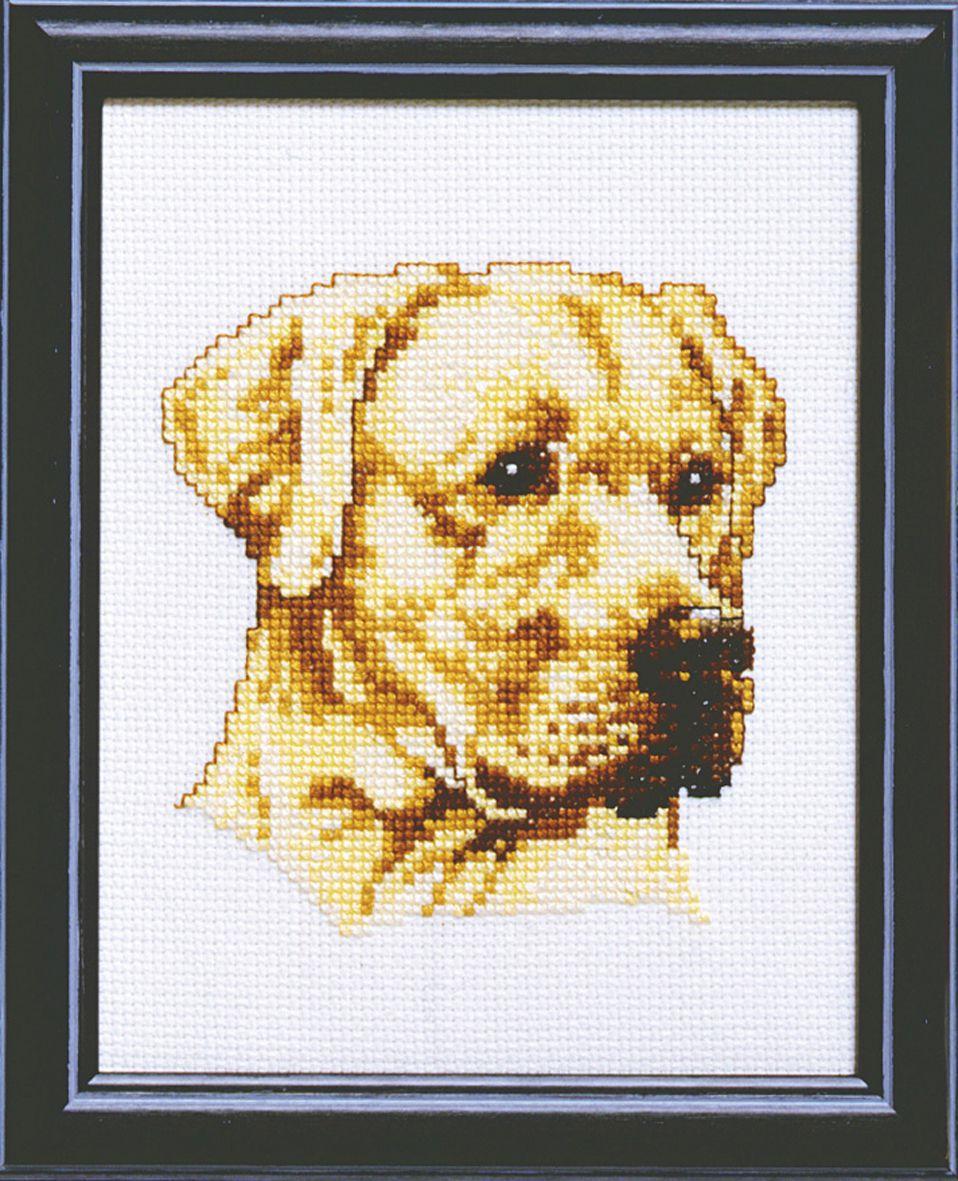 embroidery kit labrador dog