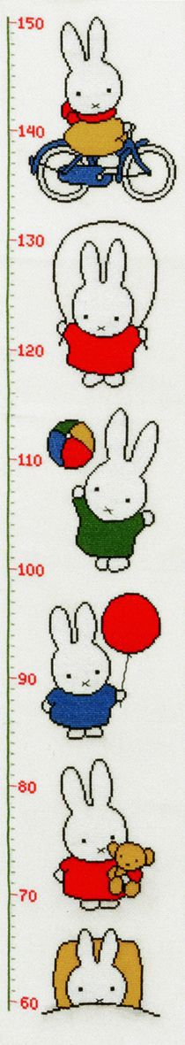 embroidery kit miffy growth shart dick bruna