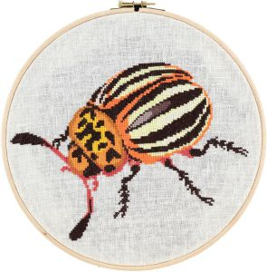 Embroidery kit potato Beetle