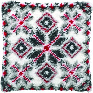 Latch hook cushion kit Norwegian patterns