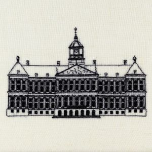Royal Palace Amsterdam embroidery kit